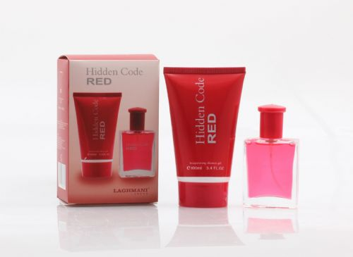 Hidden Code Red FP8189 2pc Gift Set